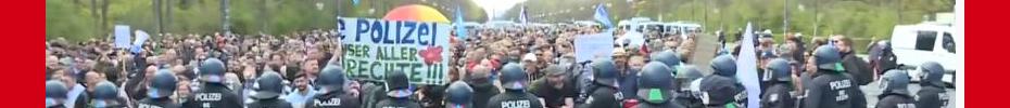 Berlin Freedom March April 24 2021