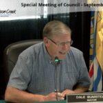 Dawson Creek Special Council Meeting September 2 2021