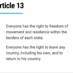 United Nations Article 13